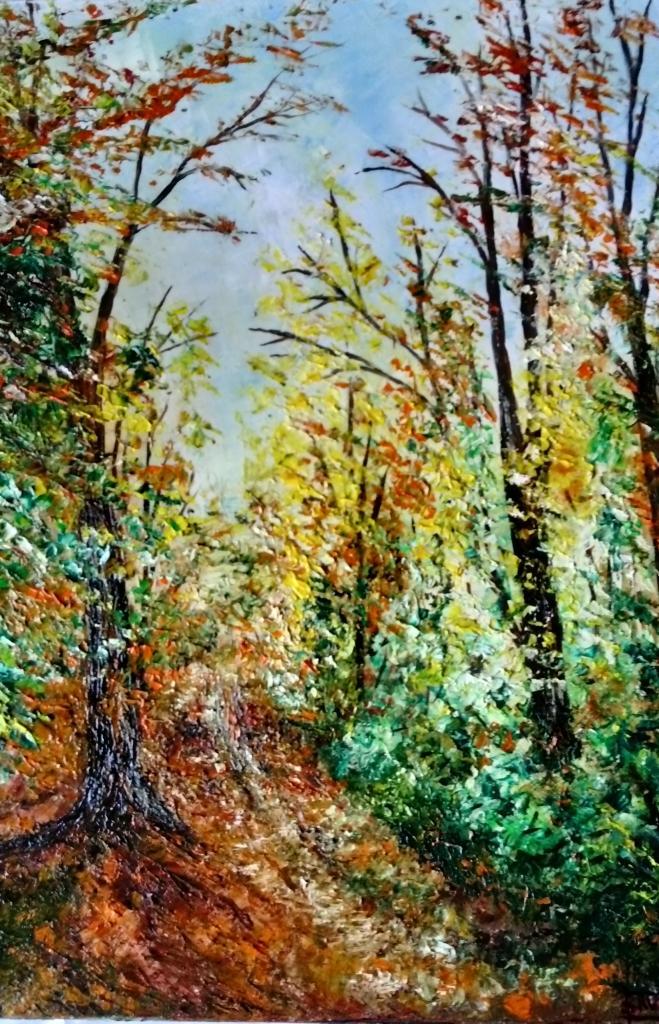 L'automne   40x30cm
