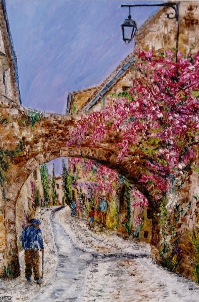 Village de Provence     50x60cm