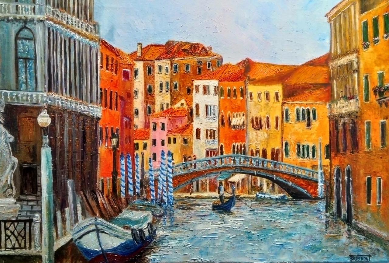 Venise    73x50cm
